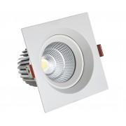 Светодиодный светильник Kink Light 2122 встраиваемый белый d8,5 h7 Led 7W (4000K)