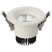 Светодиодный светильник Kink Light 2125 встраиваемый белый d8,5 h6,5 Led 7W (4000K)
