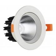 Светодиодный светильник Kink Light 2127 встраиваемый белый d8,5 h5,2 Led 5W (4000K)