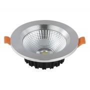 Светодиодный светильник Kink Light 2135,16 встраиваемый серебро d10,6 h4 Led 7W (4000K)