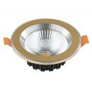 Светодиодный светильник Kink Light 2135,33 встраиваемый золото d10,6 h4 Led 7W (4000K)