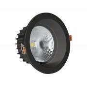 Светодиодный светильник Kink Light 2136,19 встраиваемый черный d10 h5 Led 5W (4000K)