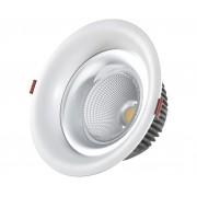 Светодиодный светильник Kink Light 2140,01 встраиваемый белый d9 h5,2 Led 7W (4000K)