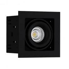 Светильник встраиваемый LeDron ON-201-9W BK/BK LED 9,3 Вт 3000К Черный/Черный порошковое покрытие