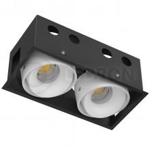 Светильник встраиваемый LeDron NORDEL 2 LED 36 Вт 3000К c узким бортиком