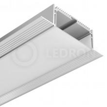 Профиль встраиваемый LeDron под шпаклевку FS-AL-W74-F с экраном+заглшки 2500*1150*320мм