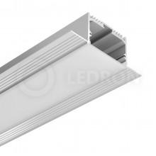 Профиль встраиваемый LeDron под шпаклевку FS-AL-W49-F с экраном+заглшки 2500*900*320мм