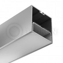 Профиль подвесной/накладной LeDron 13171 с экраном 2500*74*77мм