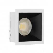 Светильник встраиваемый LeDron RISE KIT 1 White/Black GU10 50 Вт Белый/Черный