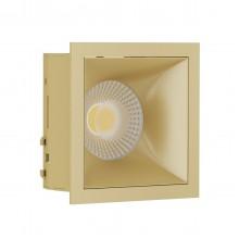 Светильник встраиваемый LeDron RISE KIT 1 Gold GU10 50 Вт Золото/золото