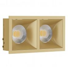 Светильник встраиваемый LeDron RISE KIT 2 Gold GU10 50 Вт Золото/золото