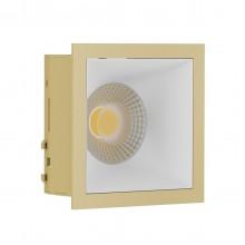 Светильник встраиваемый LeDron RISE KIT 1 Gold/White GU10 50 Вт Золото/белый