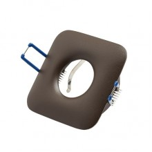 Светильник встраиваемый LeDron AO1501003 brown GU10 50 Вт Коричневый