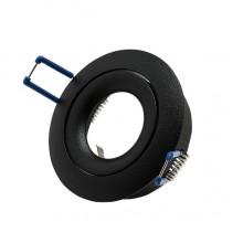Светильник встраиваемый LeDron AO1501006 black GU10 50 Вт Черный