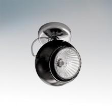 Светильник спот Lightstar OCCHIO FABI NERO черный осн ХРОМ 110574