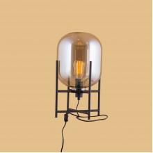 Настольная лампа в стиле Лофт LOFT HOUSE T-230-C коньячный