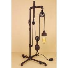 Настольная лампа в стиле Лофт LOFT HOUSE Т-103 кофейный металлик