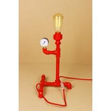 Настольная лампа в стиле Лофт LOFT HOUSE Т-108 красный