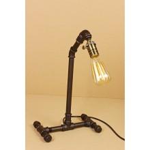 Настольная лампа в стиле Лофт LOFT HOUSE T-109 темно-коричневый металлик