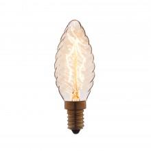 Ретро лампа Эдисона (Свеча витая) Loft IT 3540-LT E14 40W 220V
