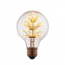 Ретро лампа светодиодная Эдисона (Шар) Loft IT G8047LED E27 3W 220V