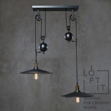 Светильник в стиле Лофт Loft IT LOFT1832C-2 Чёрный дымчатый