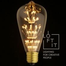 Ретро лампа светодиодная Эдисона Loft IT ST64-47LED E27 4W 220V