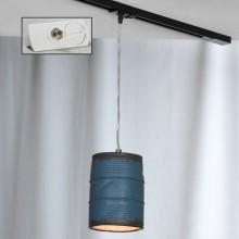 Светильник подвесной лофт Lussole LOFT LSP-9525-TAW Northport никель E27 60 Вт