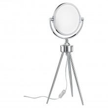 Настольная светодиодная лампа Lussole LSP-9572 Lakes хром LED 6 Вт 4100К