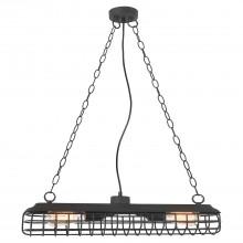 Светильник подвесной лофт Lussole LOFT LSP-8040 (GRLSP-8040) Northport черный E27 60 Вт