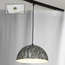 Светильник для шинопровода LGO LSP-0178-TAW Caldwell черный E14 40 Вт