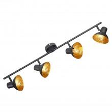 Спот Lussole LSP-9976 (GRLSP-9976) Louisville черный/оранжевый E14 40 Вт