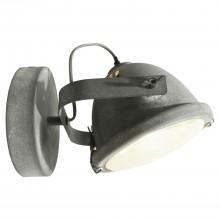 Спот лофт Lussole LOFT LSP-9880w Brentwood серый E27 60 Вт