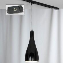 Светильник для шинопровода Lussole LSF-1196-01-TAB Rimini хром E27 60 Вт