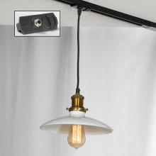 Светильник для шинопровода Lussole LSP-9605-TAB Glen Cove черный/бронзовый E27 60 Вт
