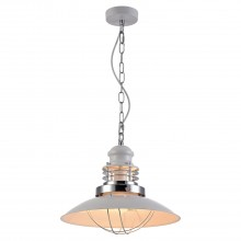 Светильник подвесной лофт Lussole LOFT LSP-8030 (GRLSP-8030) Ketchikan хром/Белый E27 60 Вт