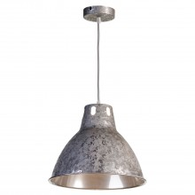 Светильник подвесной лофт Lussole LOFT LSP-9503 (GRLSP-9503) Huntsville серый E27 60 Вт