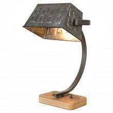 Настольная лампа лофт Lussole LOFT LSP-0511 (GRLSP-0511) Kenai коричневый E27 60 Вт