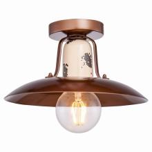 Светильник лофт потолочныйLussole LOFT LSP-8161 (GRLSP-8161) Vermilion бежевый/коричневый E27 60 Вт