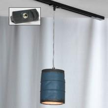 Светильник подвесной лофт Lussole LOFT LSP-9525-TAB Northport никель E27 60 Вт