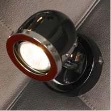 Светильник спот Lussole LSN-3121-01 Tivoli, 1 плафон, хром с черным