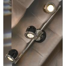 Светильник спот Lussole LSN-3121-03 Tivoli, 3 плафона, хром с черным
