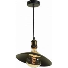 Светильник в стиле Лофт подвесной Lussole LSP-9670 Loft, 1 плафон, черный.