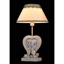 Настольная лампа Maytoni Bouquet ARM023-11-S Серый антик