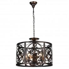 Люстра подвесная / потолочная Maytoni Rustika H899-05-R коричневый (2 в 1)
