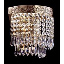 Бра хрустальное Maytoni DIA890-WL-01-G Diamant Crystal золото антик