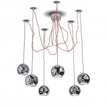 Светильник в стиле Лофт Regenbogen Life 492014406 Котбус 6*10W LED 220V