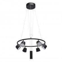 Люстра подвесная светодиодная Mw-light 632015106 Гэлэкси 6*6,5W LED 220V