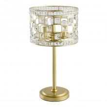 Настольная лампа Chiaro 121031703 Монарх 3*40W E14 220 V золотой
