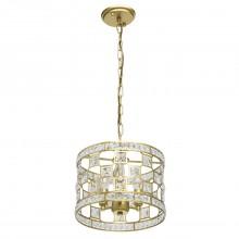 Подвесной светильник Chiaro 121011503 Монарх 3*40W E14 220V золотой